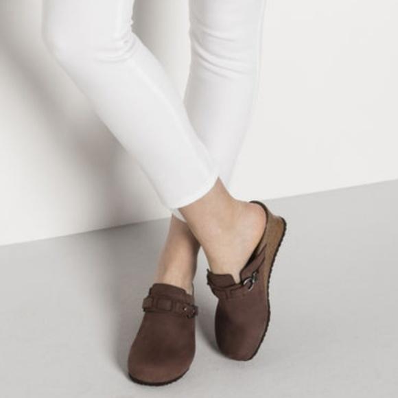 d07ad06dbe35 Birkenstock Shoes - NWT Birkenstock Papillio Dana Leather Wedge Clog